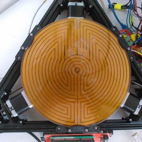 Télécharger fichier 3D gratuit Kossel XL Support de plaque avec support FSR, Balkhgar
