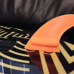 Imprimir en 3D gratis Aleta de túnel para Wake Surfing, Balkhgar