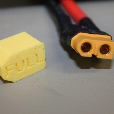 Télécharger objet 3D gratuit XT60 LiPo Couvercle de la fiche de la batterie LiPo, Balkhgar