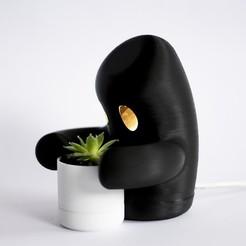 """Télécharger plan imprimante 3D Lampe """"Sauveur, nicolozano97"""