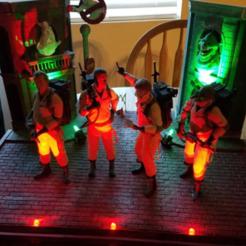 Modèle 3D gratuit Ghostbusters (Diorama), Malix3D