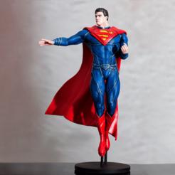 Modèle 3D gratuit Superman, Malix3D