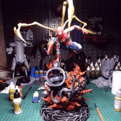 Free 3D print files Spider-Man (Diorama), Malix3D