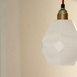 Download free 3D printing models Lampshade ceiling, Oblier