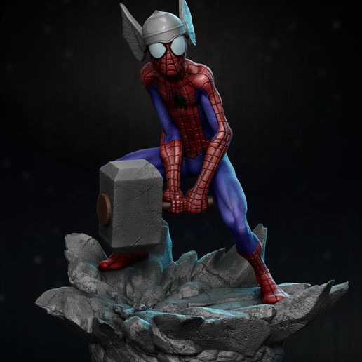 Descargar modelos 3D Spider Thor, vinicius_cardoso