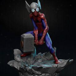 Download 3D model Spider thor, vinicius_cardoso