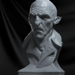Descargar modelo 3D Busto Nosferatu, vinicius_cardoso