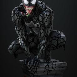 Download 3D printer designs Venom Statue , vinicius_cardoso