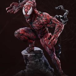 Download 3D printer designs Carnage Statue, vinicius_cardoso