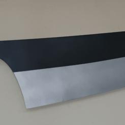 Download STL file Bleach Series Cosplay - Ichigo's Imperfect Zangetsu Sword • 3D printer design, quentinvolkaert