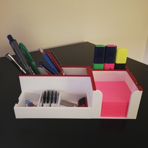 Download STL file Office Organizer • 3D print design, EBPrototypes