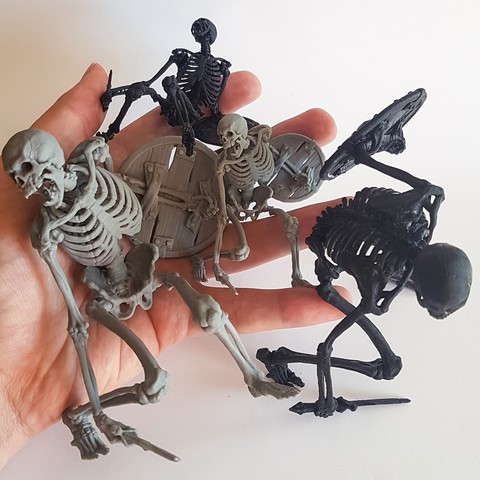 Télécharger fichier imprimante 3D Guerrier squelette maléfique, armians