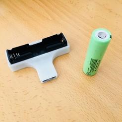 Descargar Modelos 3D para imprimir gratis Mini cargador 18650, 3Dms