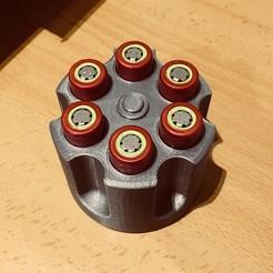 3316E813-15FE-4F8E-841F-D21F39EBE39E.JPG Télécharger fichier STL 18650 porte-piles • Plan pour impression 3D, 3Dms