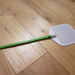 20180824_215158.jpg Download free STL file Stick for the fly swatter • 3D print object, jupatate