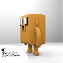 jake2.jpg Download free STL file Funko Jake - Adventure Time • 3D printable design, RMMAKER