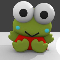 Download free STL file kero keroppi - tender frog • 3D print model, RMMAKER