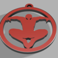 Télécharger STL gratuit Porte-clés et pendentif Spiderman, PDesigner