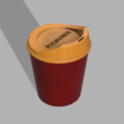 Download 3D printer files Styling coffee cup, PDesigner