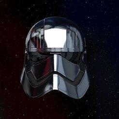 90158302_1417036818488349_2298839850289201152_o.jpg Descargar archivo STL El casco del Capitán Phasma • Objeto para impresión 3D, joraymond12345