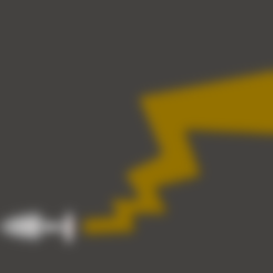 Download STL files Pika plug tail, xXx
