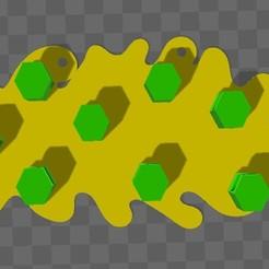 key stands1.jpg Télécharger fichier STL Porte-clés de la ruche à abeilles • Design imprimable en 3D, subicomputerpblr