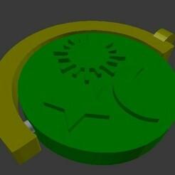 half roll.jpg Download free STL file Half roll keychain • 3D printable design, subicomputerpblr