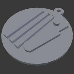 cricket.jpg Download STL file Cricket keychain • 3D print design, subicomputerpblr