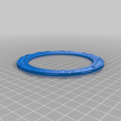 Ring_back_repaired.png Download free STL file Stargate with dialing fx Back ring coplanar repair • 3D printing object, manukrafter