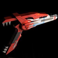3.png Download STL file MMPR power blaster blade  • Template to 3D print, manukrafter