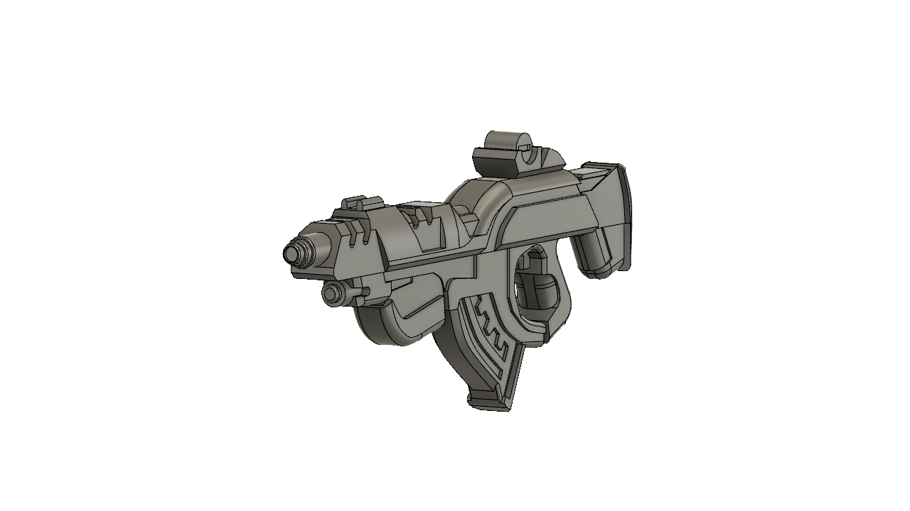 2.png Download free STL file Infinity inspired PanOceania Combi Rifle • 3D print object, manukrafter