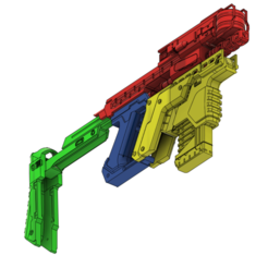 4.png Download STL file Kang Tao SMG from Cyberpunk 2077 • Object to 3D print, manukrafter