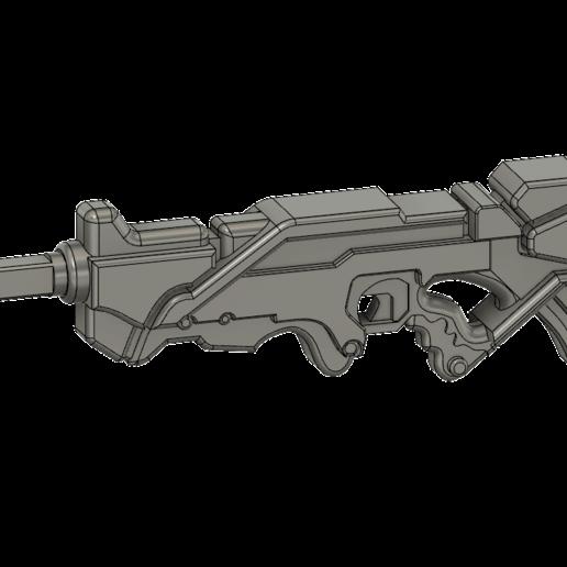 ALEPH_v3.png Télécharger fichier STL gratuit Le fusil combiné Aleph inspiré par l'infini • Design imprimable en 3D, manukrafter