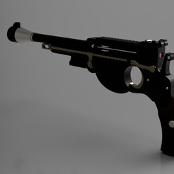 1.jpg Download STL file Mandalorian blaster bistol • 3D printing template, manukrafter