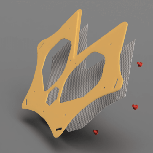 Download free STL file Dust mask substitute  • 3D printer object, manukrafter