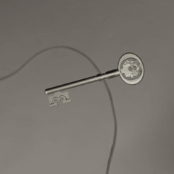 1.png Download STL file Original Key • 3D print template, manukrafter