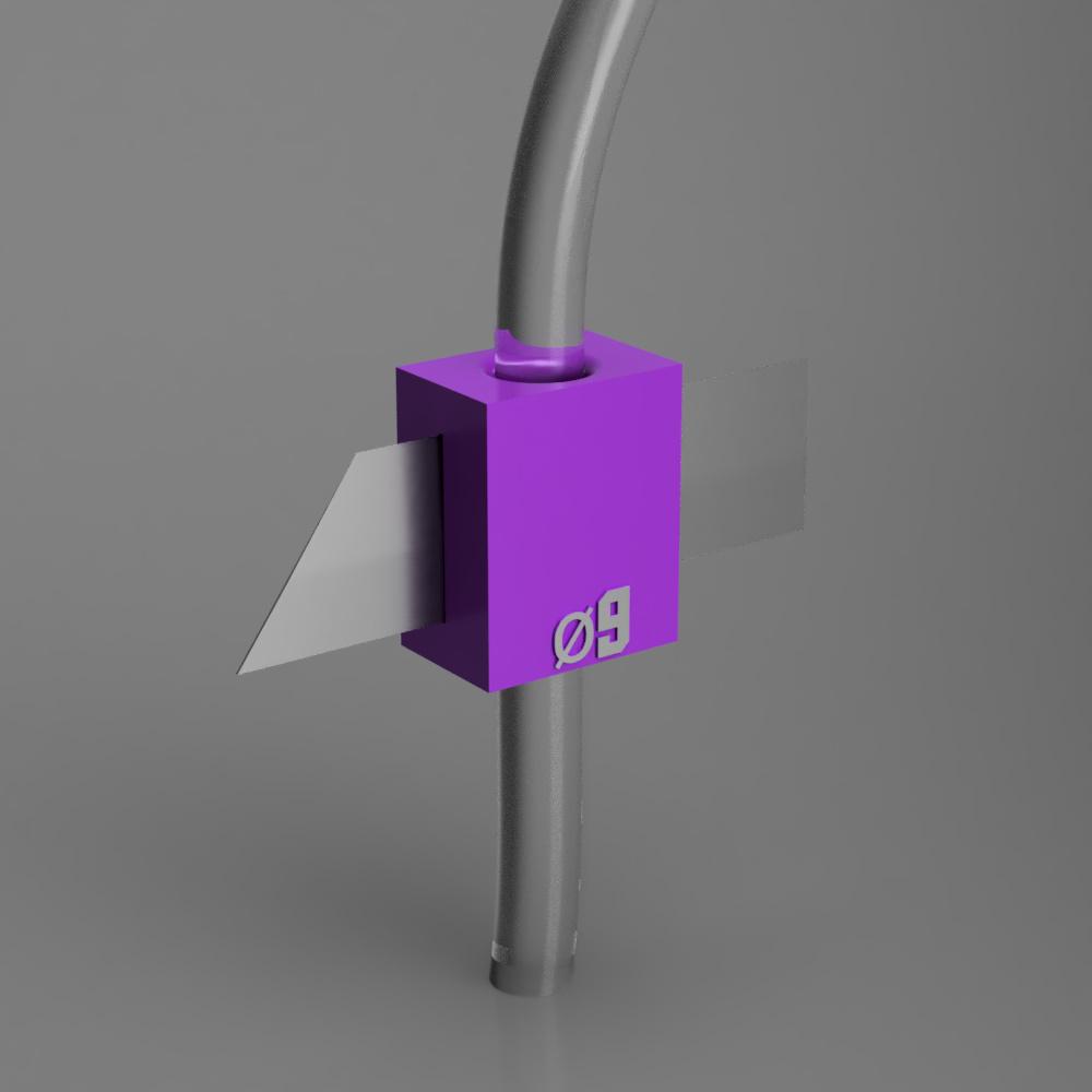 sekac9.jpg Télécharger fichier STL gratuit Séparateurs de tuyau en plastique • Modèle imprimable en 3D, manukrafter