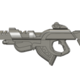 Download free STL Infinity inspired PanOceania Combi Rifle, manukrafter