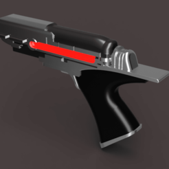 1.png Download STL file Phaser gun from Star Trek Picard / with electronics! • 3D printing design, manukrafter