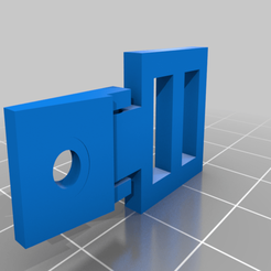 Strap_holder_for_a_mask.png Download free STL file Strap holder for a mask • 3D print model, manukrafter