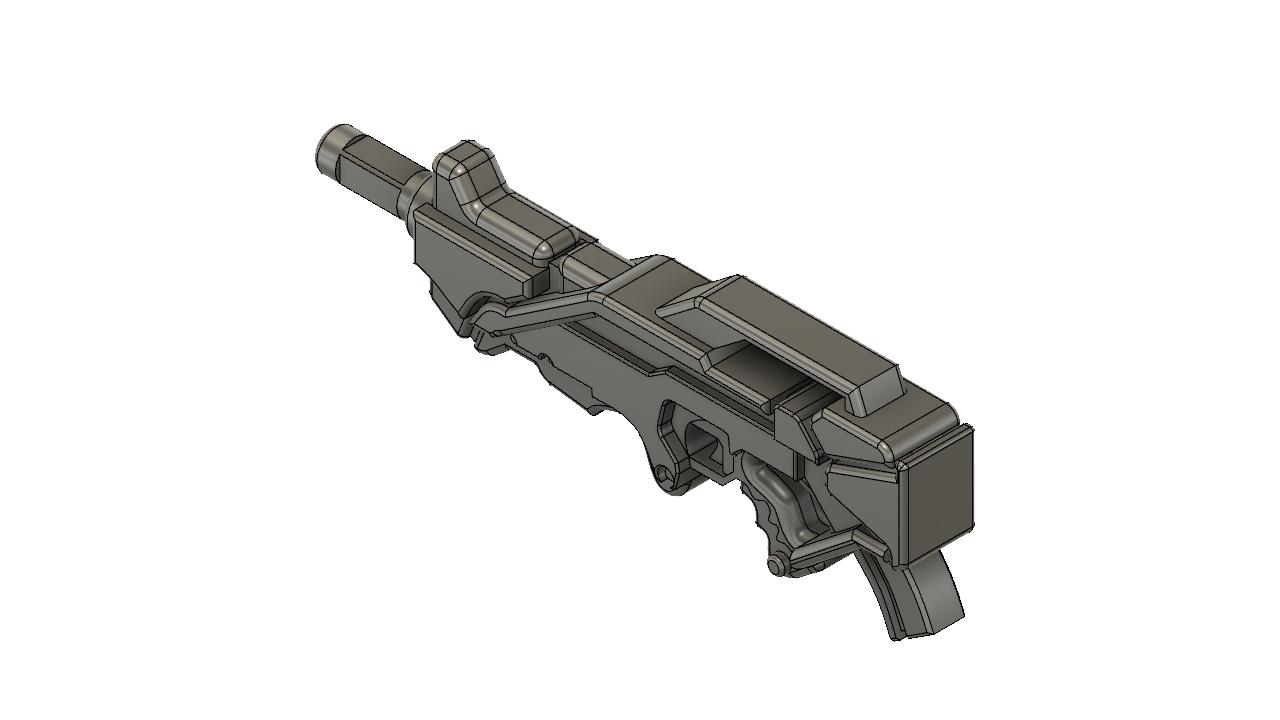 ALEPH_v1.png Télécharger fichier STL gratuit Le fusil combiné Aleph inspiré par l'infini • Design imprimable en 3D, manukrafter
