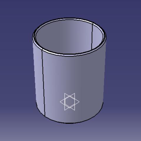 3D printing model Desktop pencil holder, valentin10