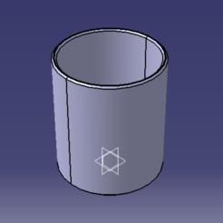 Imprimir en 3D Porta lápices de sobremesa, valentin10