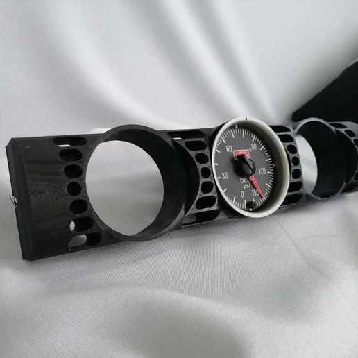 Télécharger fichier STL Jauges BMW e34 • Modèle pour imprimante 3D, Lucy3dCR