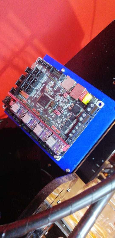 Download STL file Anet A8 Base for SKR v 1.3 • 3D print object, Lucy3dCR
