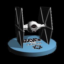 Download 3D printing files TieFighter starwars fanart 3D print, 3DesingMultiverse