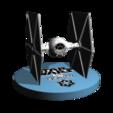 STL TieFighter starwars fanart 3D print, cpers2006