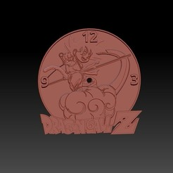 Download free 3D printer files DragonBall clock base 3D, 3DesingMultiverse