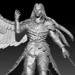 Download free 3D printer model sephiroth, 3DesingMultiverse
