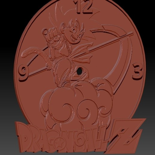 drball02.jpg Download free STL file DragonBall clock base 3D • 3D printing template, 3DesingMultiverse